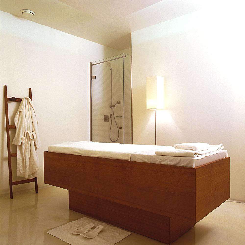 Area massaggi per spa