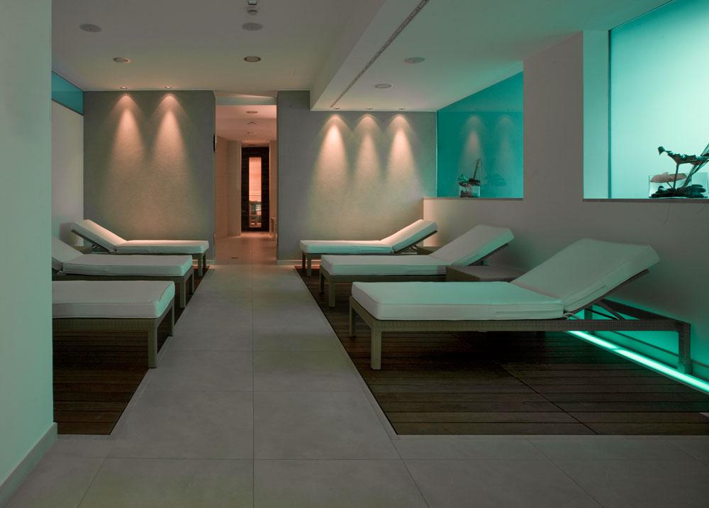 Zona relax con sauna