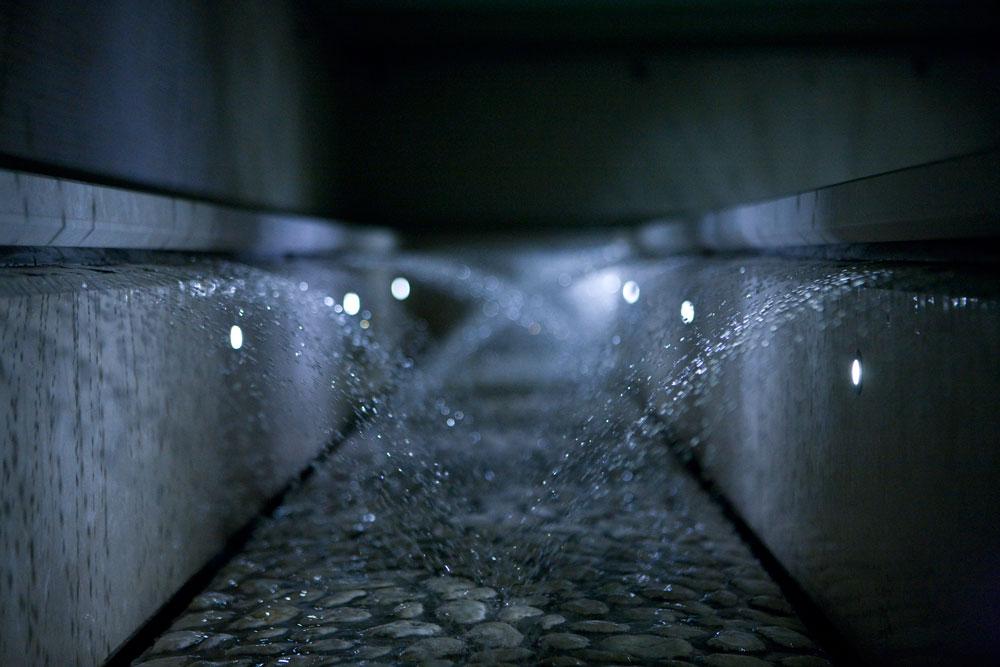 Percorso acqua spa